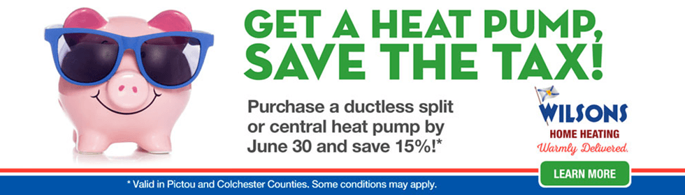 Save the tax on heat pumps