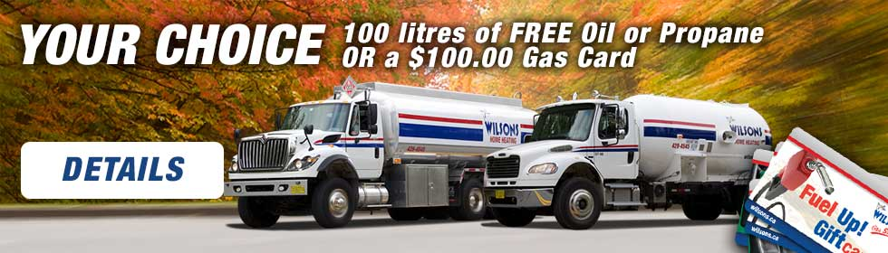 100 Litres or $100 gas card