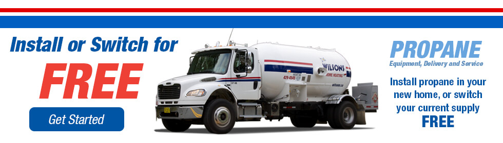Install or switch propane for free